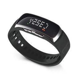 1-Golf Range Finder Wrist Band GPS Band Watch Pedometer Golf