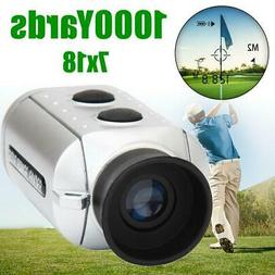 1000 Yards Golf Rangefinder Digital 7x Laser Distance Range
