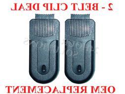 2 Pack - OEM Belt Clip Garmin Rino 110 120 130 520 530 520hc