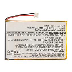 2000mAh H604261H Battery for Bushnell Yardage Pro 368100 368