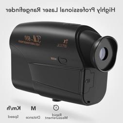 2019 600M Laser Rangefinder Speed Angle Hunting Golf Range F