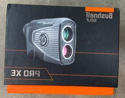 Bushnell 201950 Pro XE Golf Laser Rangefinder Brand New Free
