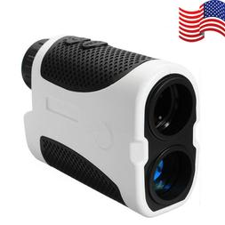 400M Golf Laser Range Finder Monocular Handheld Angle Scan P