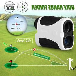 400Yard Golf Laser Range Finder w/Slope Angle Scan Flag Lock
