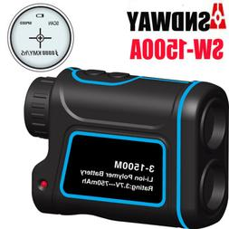 600-1500M Pro Monocular Telescope Laser Range Finder Distanc
