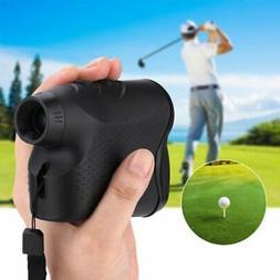 600M Golf Laser Range Finder 6X Rangefinder LCD Yardage Devi