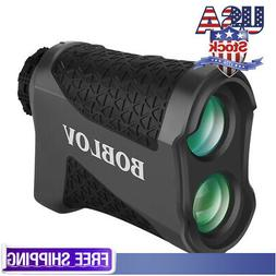 BOBLOV 650 Yards Golf Range Finder 6X Magnification Flaglock