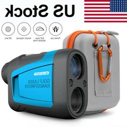 HD 650 Yards Laser Range Finder Telescope Golf Hunt Laser Ra