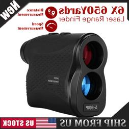 650 YD Golf Rangefinder Laser Range Finder 6X Magnification