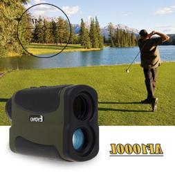 Eyoyo 6X 1000Yd Laser Range Finder Golf Distance Meter Speed