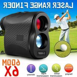6x magnification 656yards golf laser range finder