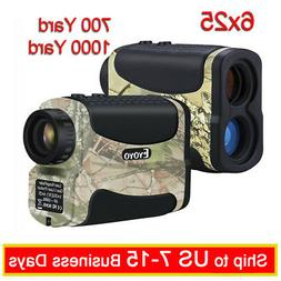 EYOYO 6x Magnification 700/1000 Yard Golf Hunting Laser Rang