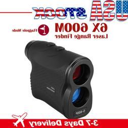 6x magnification laser range finder 600m distance