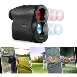 6X Monocular 600m Golf Laser Range Finder Distance Meter Cam