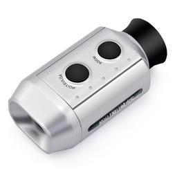 7x golf hunting handheld monocular laser range