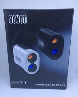 TONOR 980 Yards Laser Golf Rangefinder Color :  Black *FREE