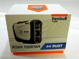 Brand New Bushnell Tour V4 Patriot Pack Golf Laser Rangefind