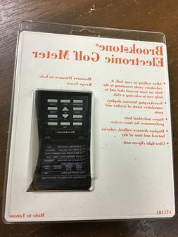 Brookstone Comp-U-Golf Electronic Golf Meter