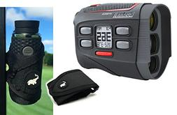 Bushnell 2018 Hybrid Golf Laser/GPS Rangefinder Bundle with