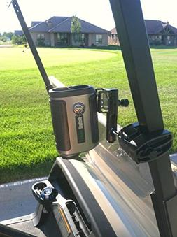 Caddie Buddy Golf Cart Mount/Holder for Laser Rangefinders.