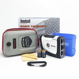 Bushnell Tour V4 Patriot Pack Laser Golf Rangefinder 201660P