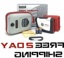 Bushnell Tour V4 Shift Laser Golf Rangefinder Bundle Carabin