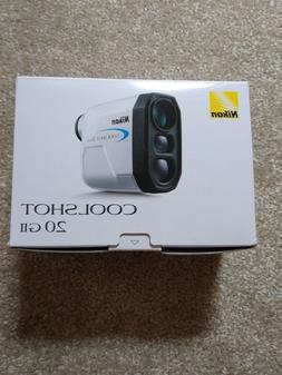Nikon Coolshot 20 GII Golf Laser Rangefinder - New In Box