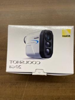 Nikon Coolshot 20 GII Golf Laser Rangefinder - White  NEW  F