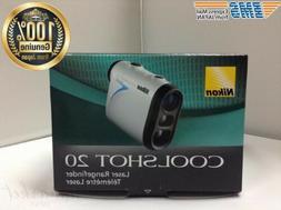 Nikon COOLSHOT 20 Portable Laser Rangefinder Golf LCS20 F/S