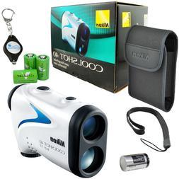 Nikon Coolshot 40 Laser Rangefinder 16201 + 3 CR2 Batteries