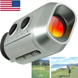 Digital 7x18 Golf Scope Pocket Monocular Rangefinder Finder