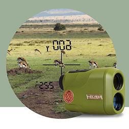 KOLSOL Dual-use Golf, Hunting Laser Rangefinder 1000yard 6.5