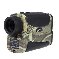 EYOYO Camo Golf Laser Rangefinder Range Finder Scope 6x25 70