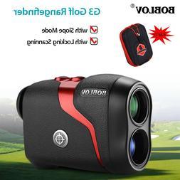 G3 6X Magnification Golf Laser Range Finder with Slope Compe