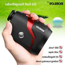 G3 6X Magnification Golf Laser Range Finder with Slope Pulse