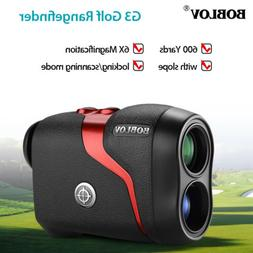 BOBLOV G3 6X Magnification Golf Rangefinder with Slope Pulse