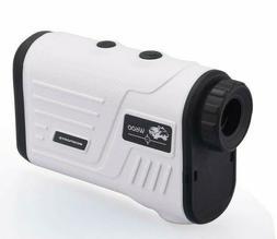 Wosports Golf&Hunting Laser Range Finder w/Slope W600A WHITE