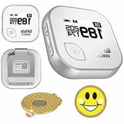 Golf Buddy Voice 2 GPS/Rangefinder Bundle Ball Marker Magnet