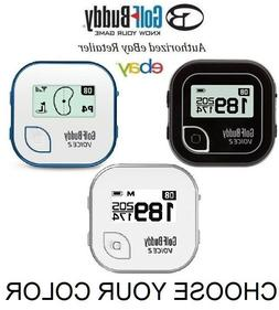 GOLF BUDDY VOICE 2 II NEW GPS RANGEFINDER CHOOSE COLOR FAST
