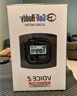 Golf Buddy Voice 2 Talking GPS Range Finder Watch Clip-On Bl