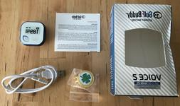 Golf Buddy Voice 2 Talking GPS Range Finder Watch Clip-On Wh