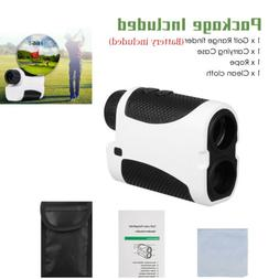 Golf Laser Range Finder 400Yard  w/Slope Angle Scan Flag Loc