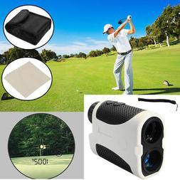 Golf Laser Range Finder  Angle Scan  w/Case Rangefinder