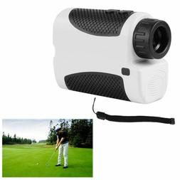 Golf Laser Range Finder w/ Flag-lock/Slope Angle Scan 6X Mag