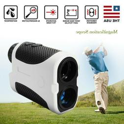 Golf Laser Range Finder w/Slope Compensation Angle Scan Pins