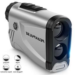 Golf Laser Rangefinder 6X laser Telescope Flag Ramp Correcti