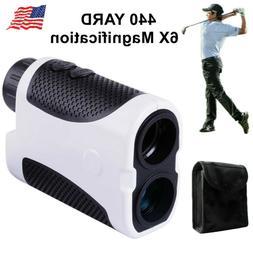 Golf Range Finder 6X Magnification 440 Yards Laser Meter Fla