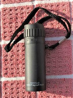 Golf Range Finder WILSON 8x20mm Adjustable Eye Piece with Ca