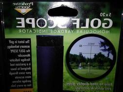 Golf Range Finder 8x20mm Mini Spotting Scope Monocular w/ Ca