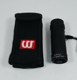 WILSON Golf Range Finder Scope 8X20mm, Nylon Case, Lanyard,